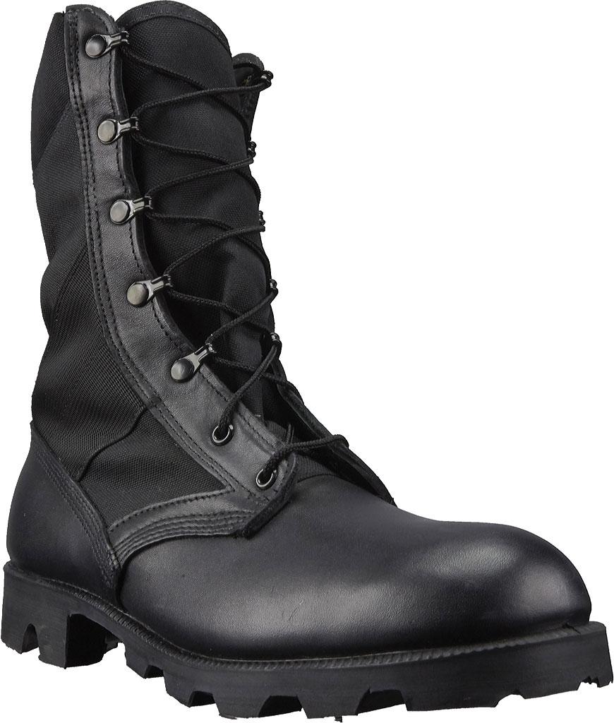 "Men's Altama Footwear Jungle PX 10.5"" Boot, Black Polishable Full Grain Leather, large, image 1"
