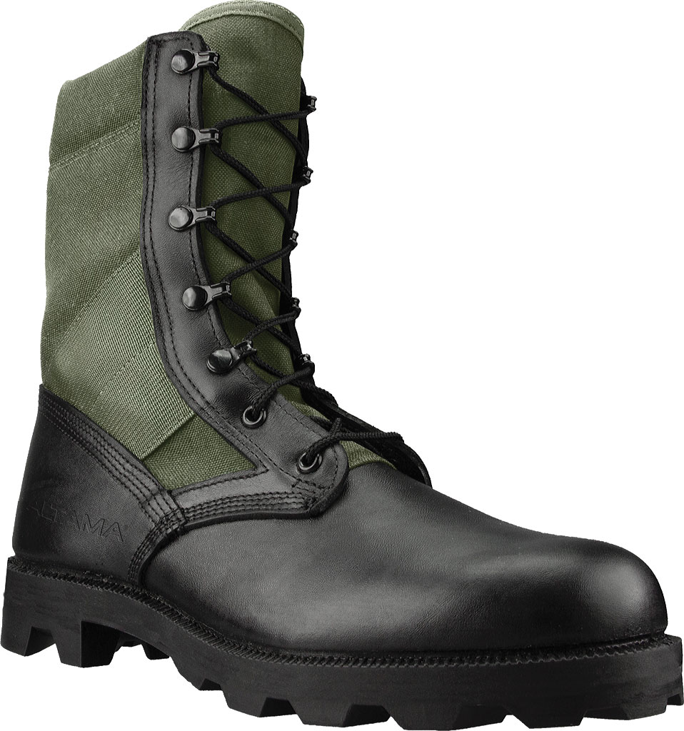 "Men's Altama Footwear Jungle PX 10.5"" Boot, Olive Drab Polishable Full Grain Leather, large, image 1"
