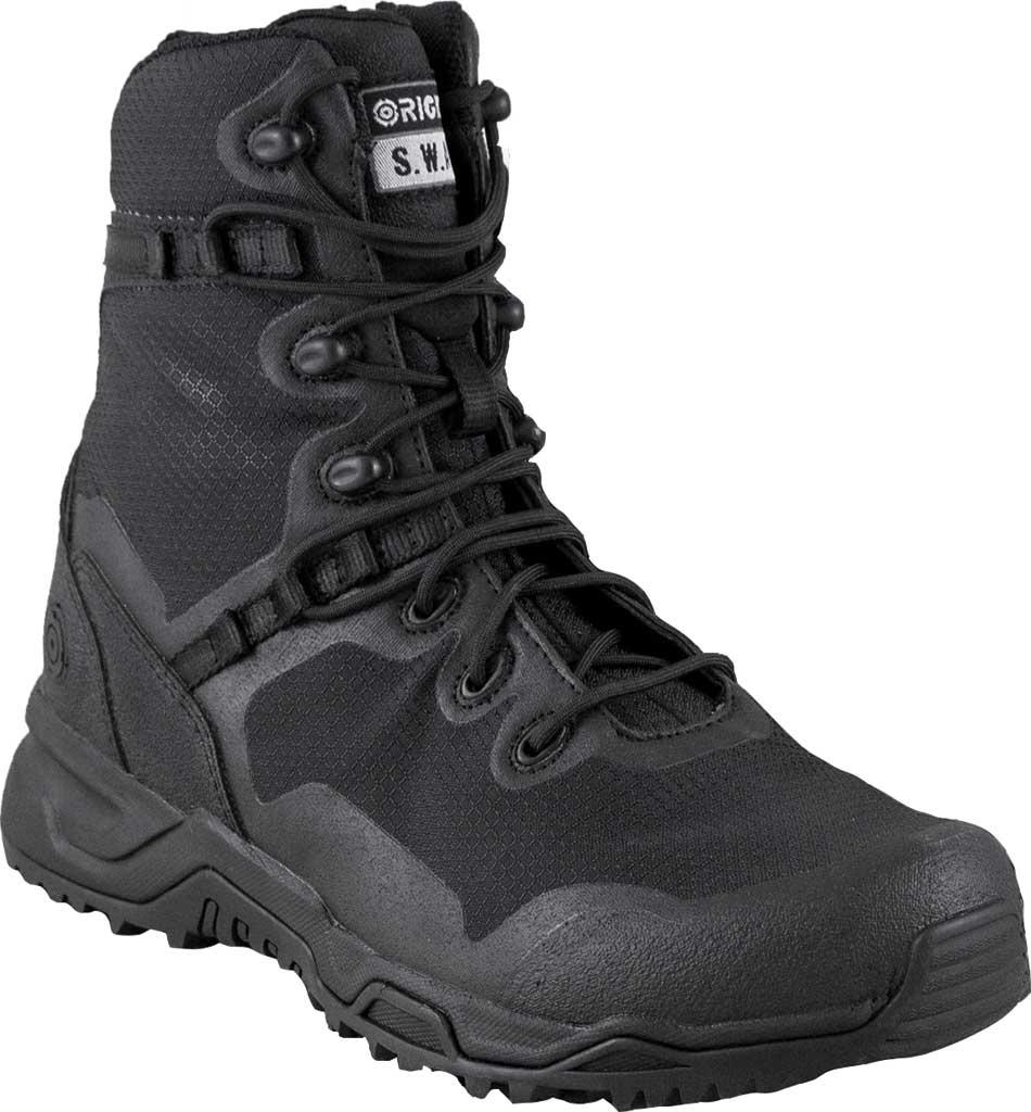 "Men's Original S.W.A.T. Alpha Fury 8"" Boot, Black, large, image 1"