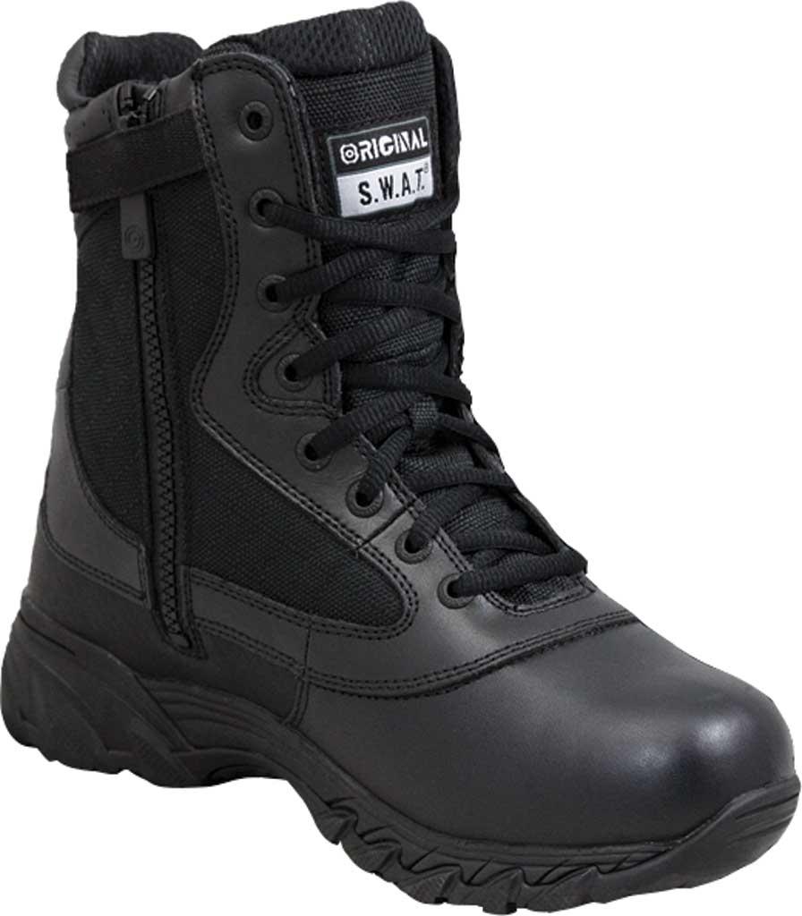 "Men's Original S.W.A.T. Chase 9"" Waterproof Side Zip Boot, Black, large, image 1"