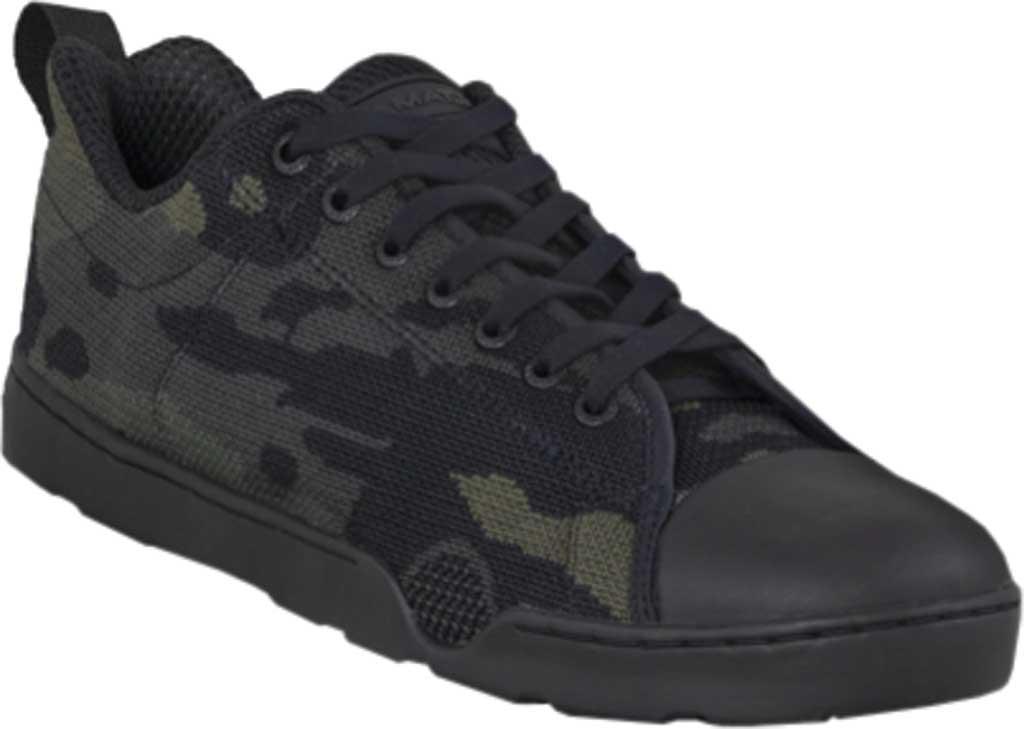 Men's Altama Footwear Urban Assault Low Sneaker, Black MultiCam Flex Knit, large, image 1