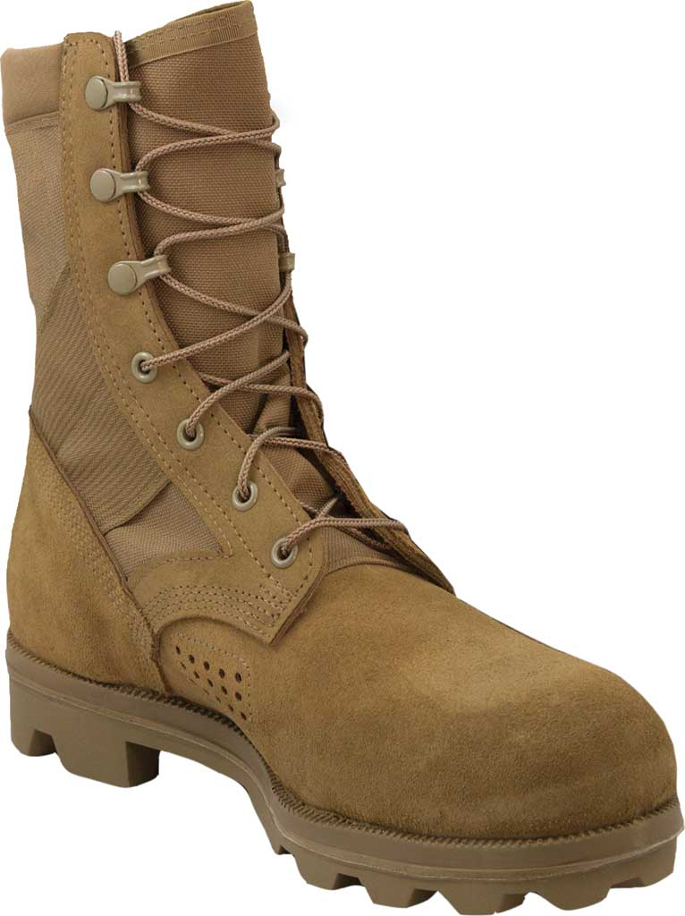 """Men's Altama Footwear Pro X 8"""" Military Boot, Coyote Fleshout Cowhide Leather/Nylon, large, image 1"""