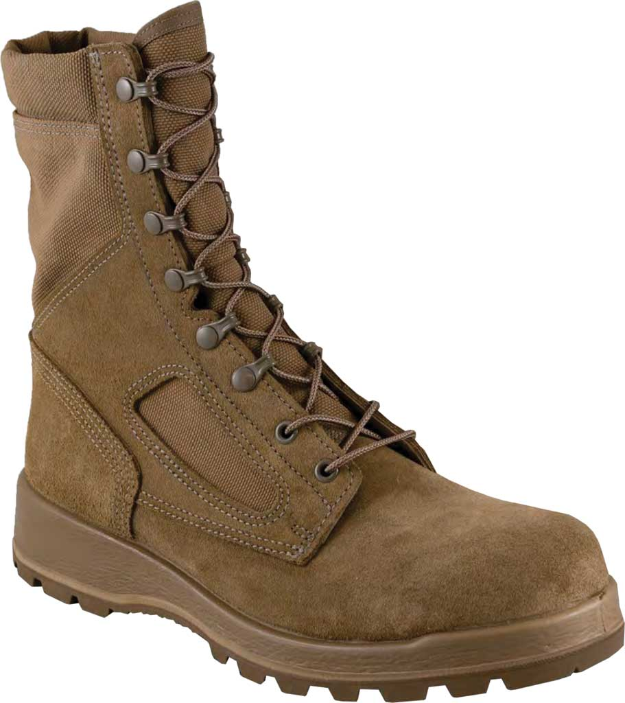 Men's Altama Footwear Titan GORE-TEX TW Military Boot, Coyote Fleshout Cowhide Leather/Cordura, large, image 1