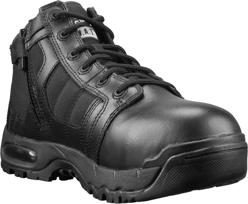"Men's Original S.W.A.T. Metro Air 5"" SZ Safety Composite Toe Boot, Black Leather/Cordura 1000 Denier Nylon, large, image 1"