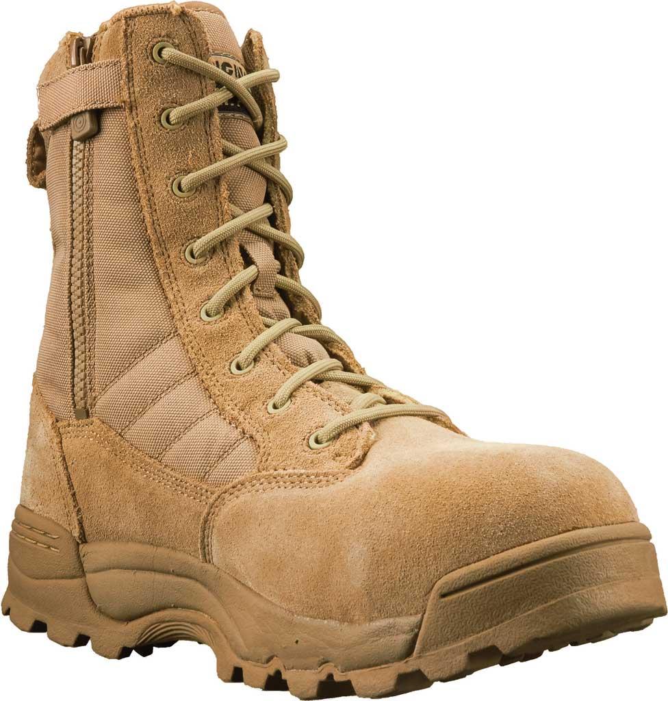 """Men's Original S.W.A.T. Classic 9"""" SZ Safety Composite Toe Boot, Tan Suede/Cordura 1000 Denier Nylon, large, image 1"""