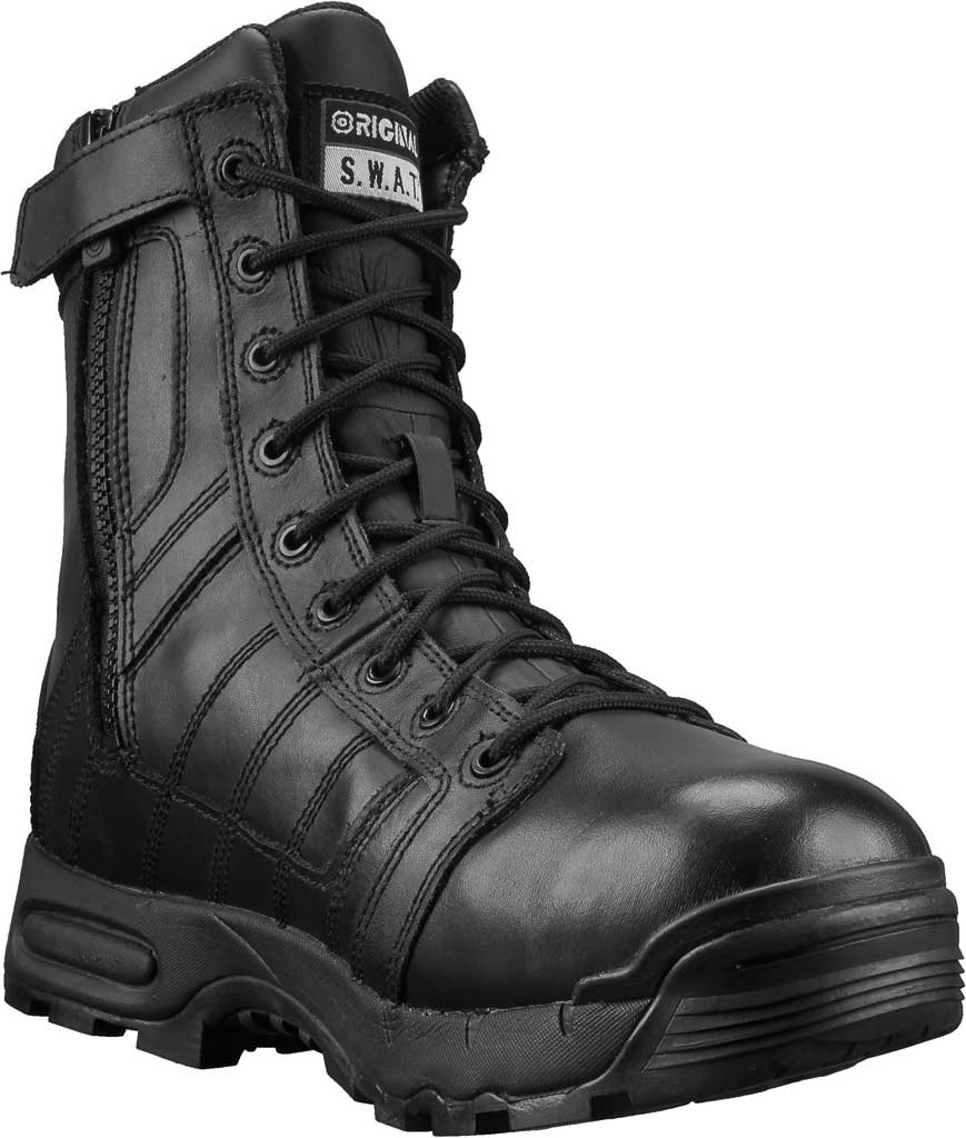 "Men's Original S.W.A.T. Metro Air 9"" SZ 200 Work Boot, Black Leather/Cordura 1000 Denier Nylon, large, image 1"