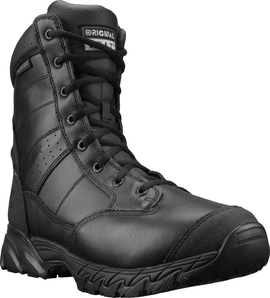 """Men's Original S.W.A.T. Chase 9"""" Waterproof Boot, Black Full Grain Leather, large, image 1"""