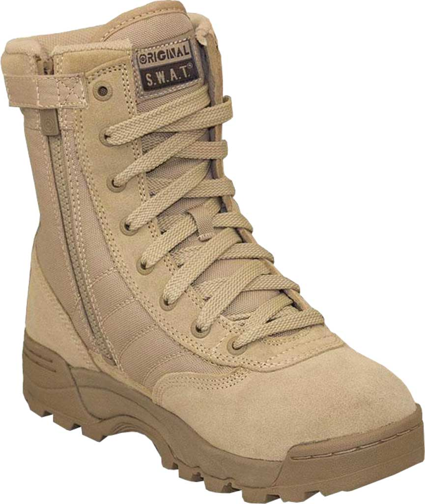 """Men's Original S.W.A.T. Classic 9"""" Side-Zip Work Boot, , large, image 1"""