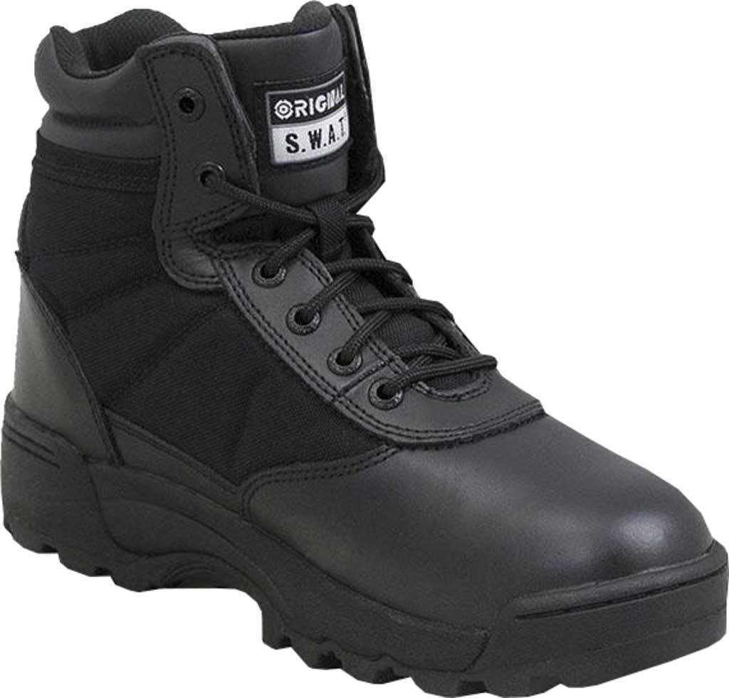 "Men's Original S.W.A.T. Classic 6"" Work Boot, Black Full Grain Leather/Cordura 1000 Denier Nylon, large, image 1"