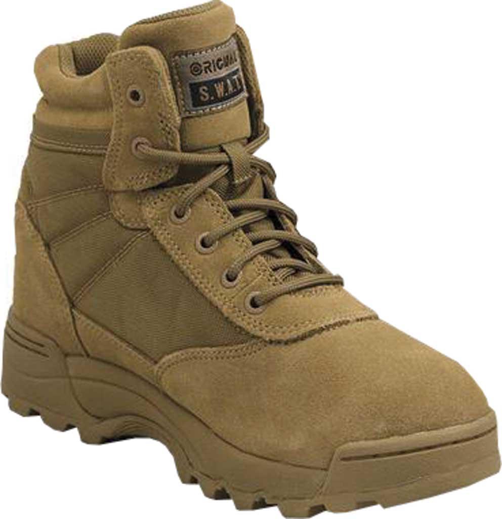 "Men's Original S.W.A.T. Classic 6"" Work Boot, Coyote Suede/Cordura 1000 Denier Nylon, large, image 1"