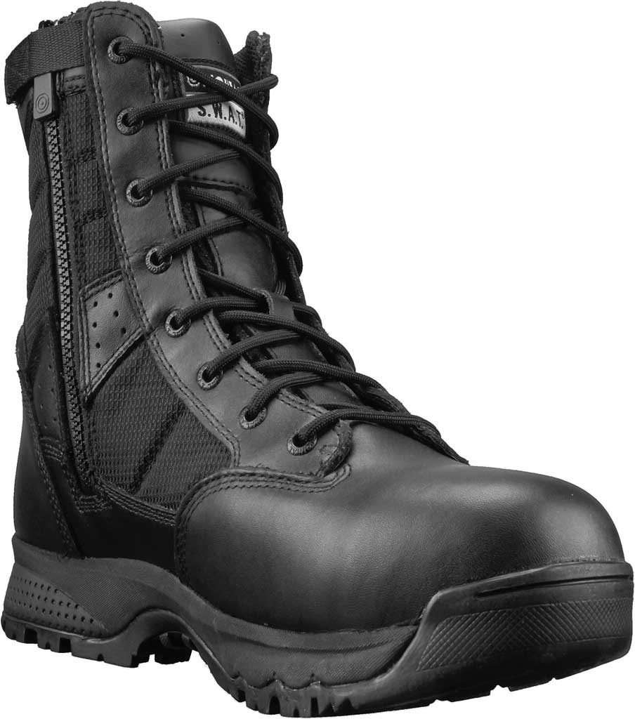 "Men's Original S.W.A.T. Metro 9"" Waterproof SZ Safety Composite Toe Boot, Black Action Leather/Nylon, large, image 1"