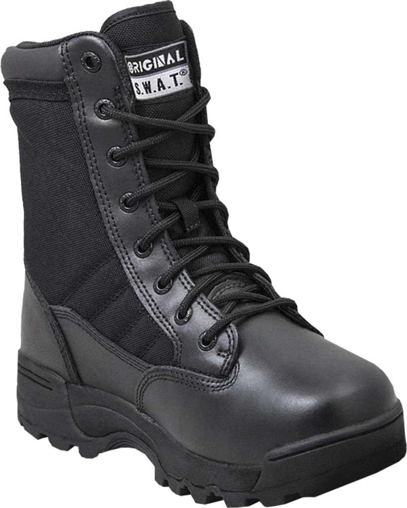 "Men's Original S.W.A.T. Classic 9"" Mid Work Boot, Black Full Grain Leather/Cordura 1000 Denier Nylon, large, image 1"