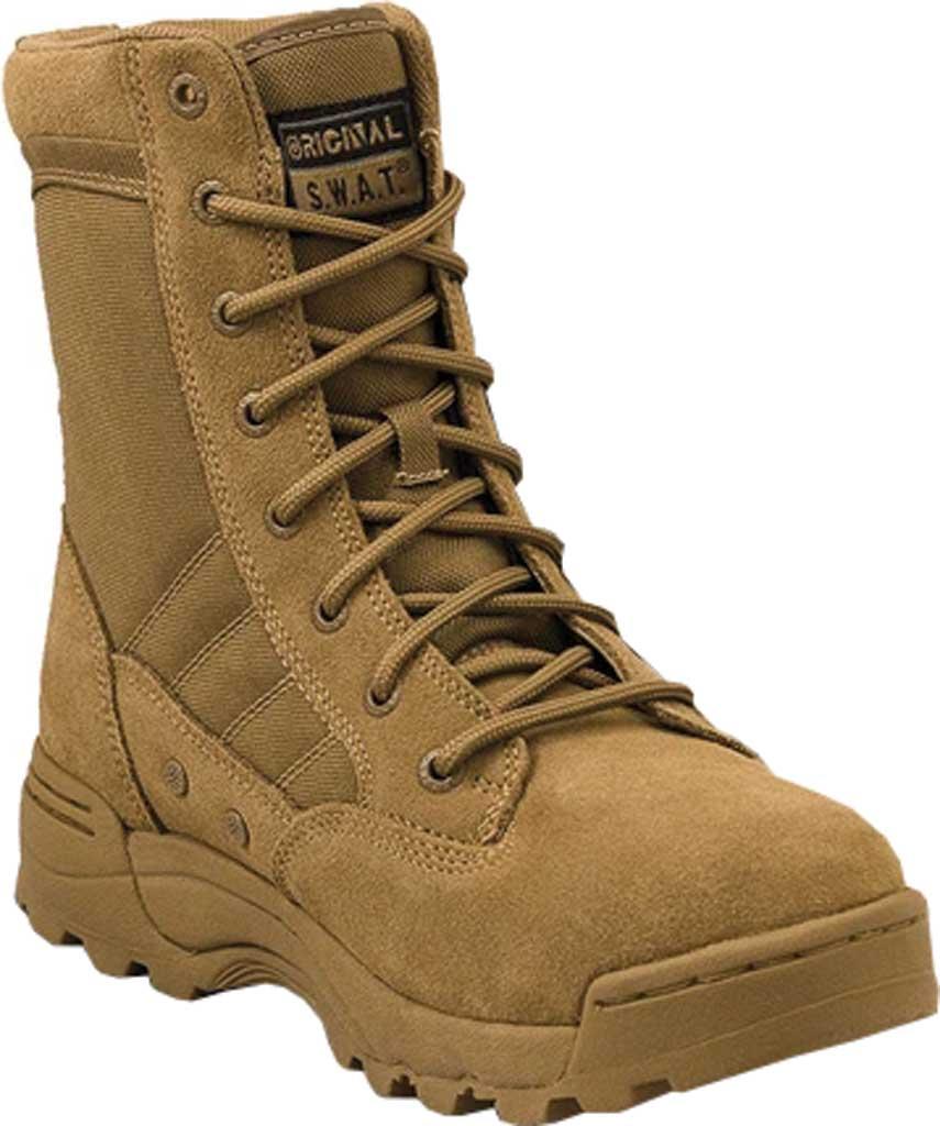 "Men's Original S.W.A.T. Classic 9"" Mid Work Boot, Coyote Suede/Cordura 1000 Denier Nylon, large, image 1"