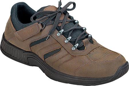 Men's Orthofeet Shreveport, Brown Leather, large, image 1