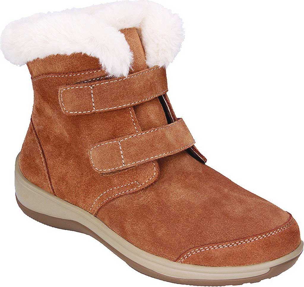 Women's Orthofeet Florence Faux Fur Bootie, , large, image 1