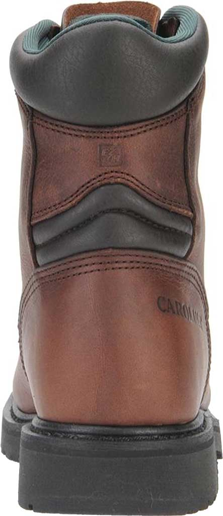 "Men's Carolina Domestic 8"" Plain Toe Steel Toe Boot 1809, Amber Gold Leather, large, image 3"