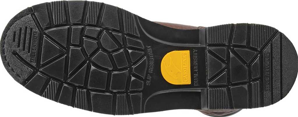 "Men's Carolina Domestic 8"" Plain Toe Steel Toe Boot 1809, Amber Gold Leather, large, image 5"