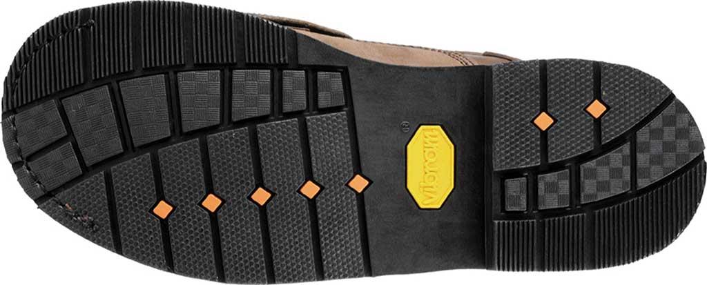 "Men's Carolina 6"" Metatarsal Steel Toe 599 Boot, Dark Brown Leather, large, image 5"