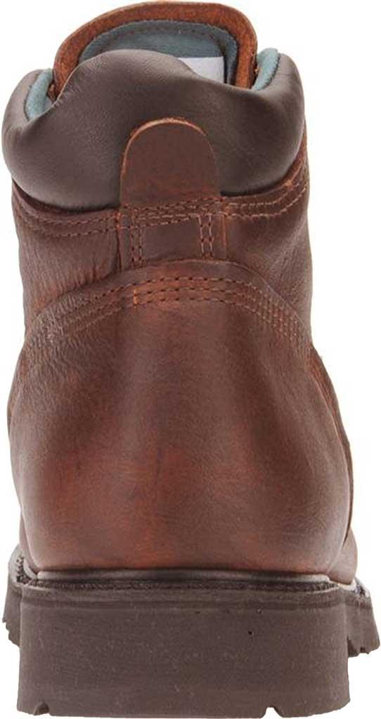 "Men's Carolina Domestic 6"" Plain Toe Steel Toe Boot 1309, Amber Gold Leather, large, image 3"