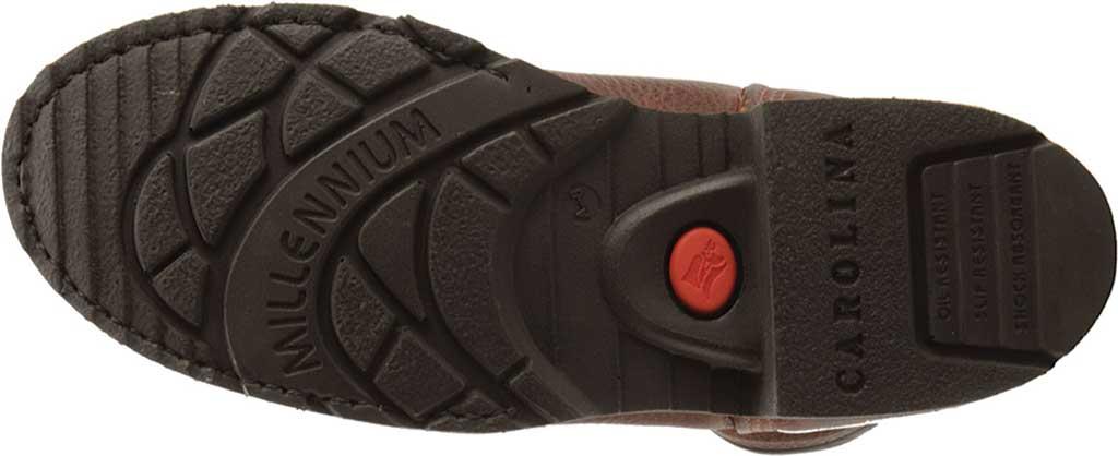"Men's Carolina Domestic 6"" Plain Toe Steel Toe Boot 1309, Amber Gold Leather, large, image 5"