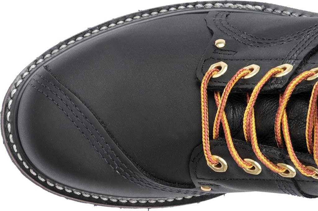 "Men's Carolina Domestic 10"" Linesman 905, Black Leather, large, image 4"