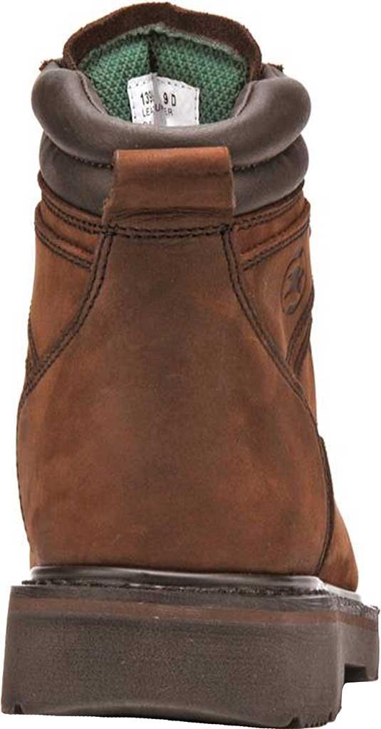 "Men's Carolina 6"" Broad Toe Steel Toe 1399 Boot, Dark Brown Leather, large, image 3"