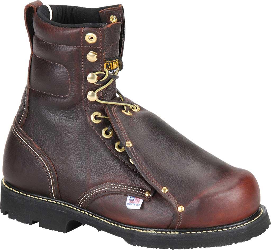 "Men's Carolina Domestic 8"" Metatersal Steel Toe 505 Boot, Briar Leather, large, image 1"