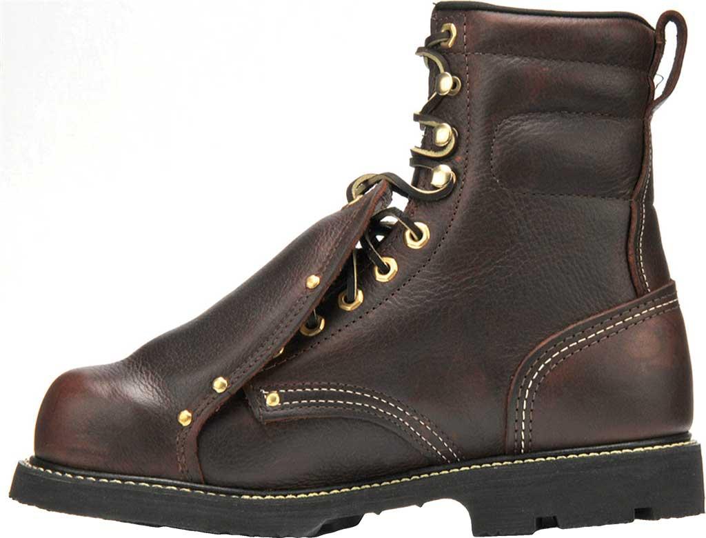 "Men's Carolina Domestic 8"" Metatersal Steel Toe 505 Boot, Briar Leather, large, image 2"