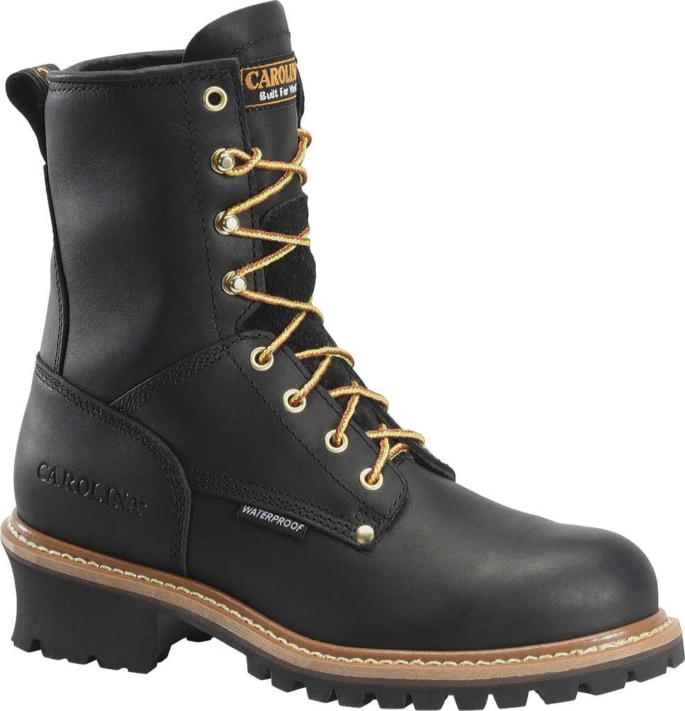 """Men's Carolina 8"""" Waterproof Logger Boot, , large, image 1"""