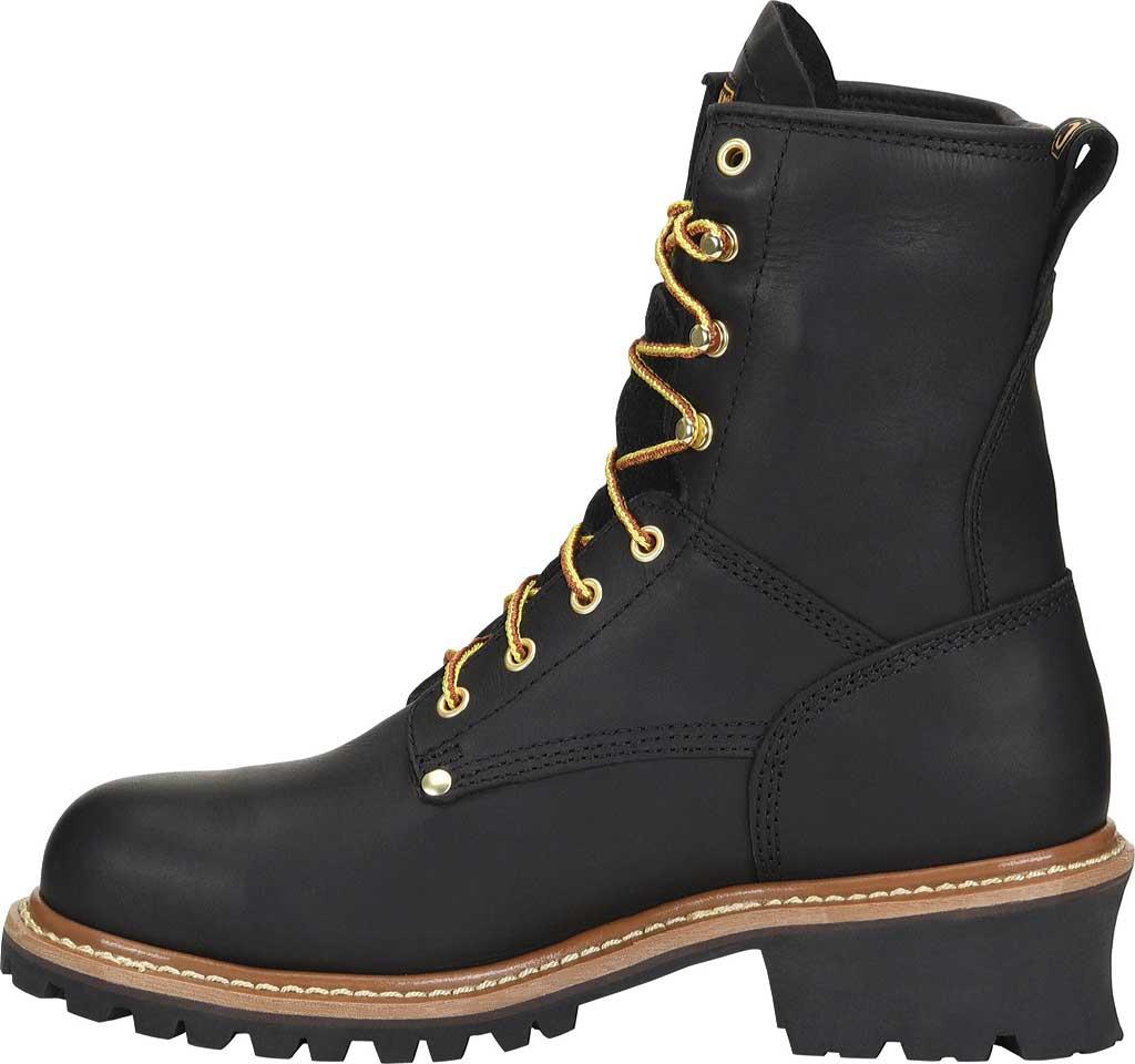 """Men's Carolina 8"""" Waterproof Logger Boot, , large, image 2"""