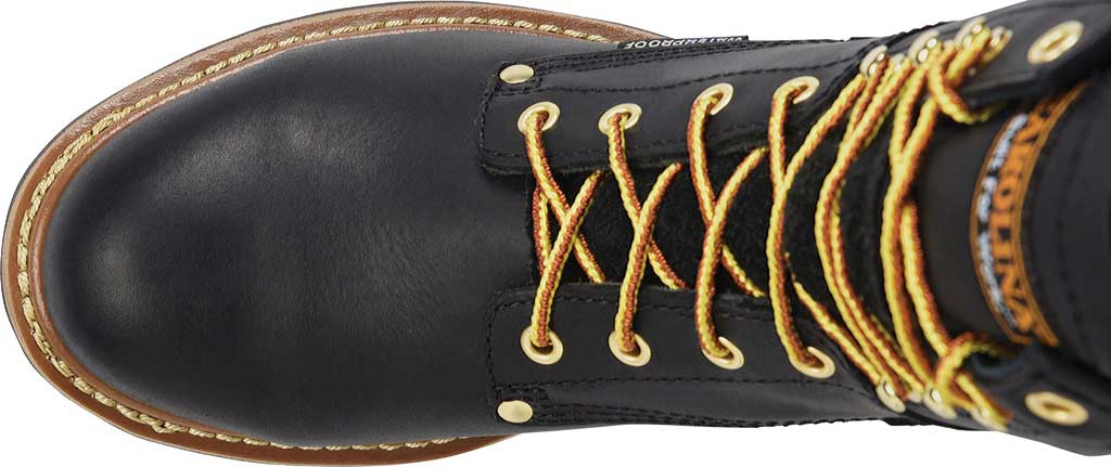 """Men's Carolina 8"""" Steel Toe Plain Toe Logger, , large, image 4"""