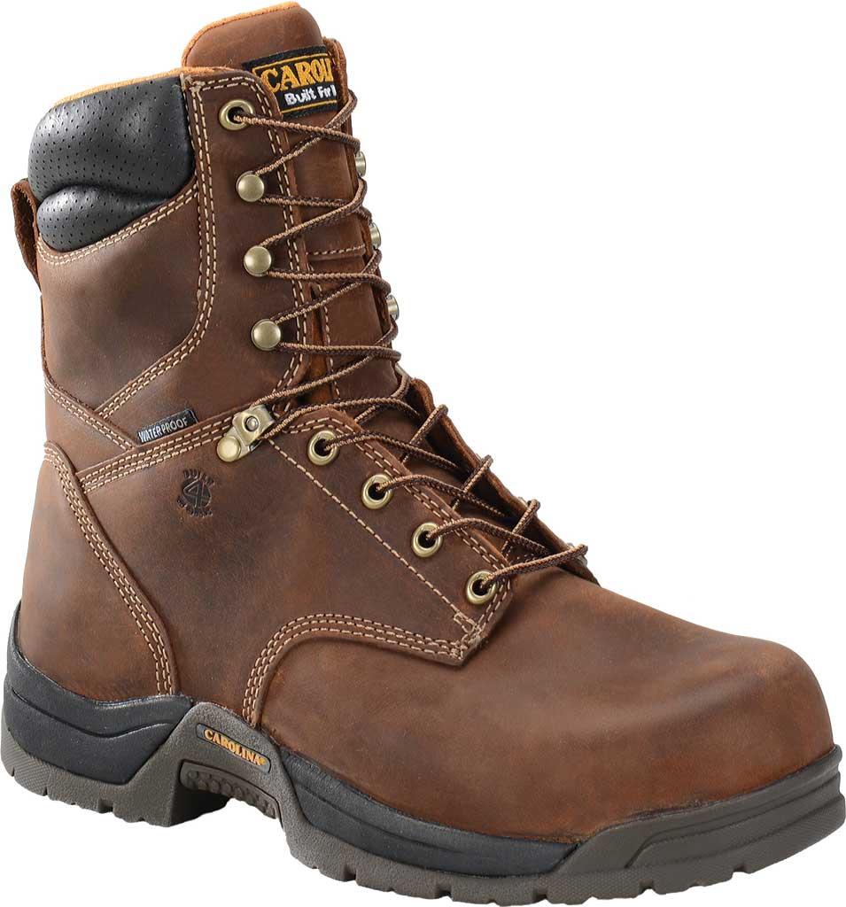 Men's Carolina CA8020, Dark Brown, large, image 1