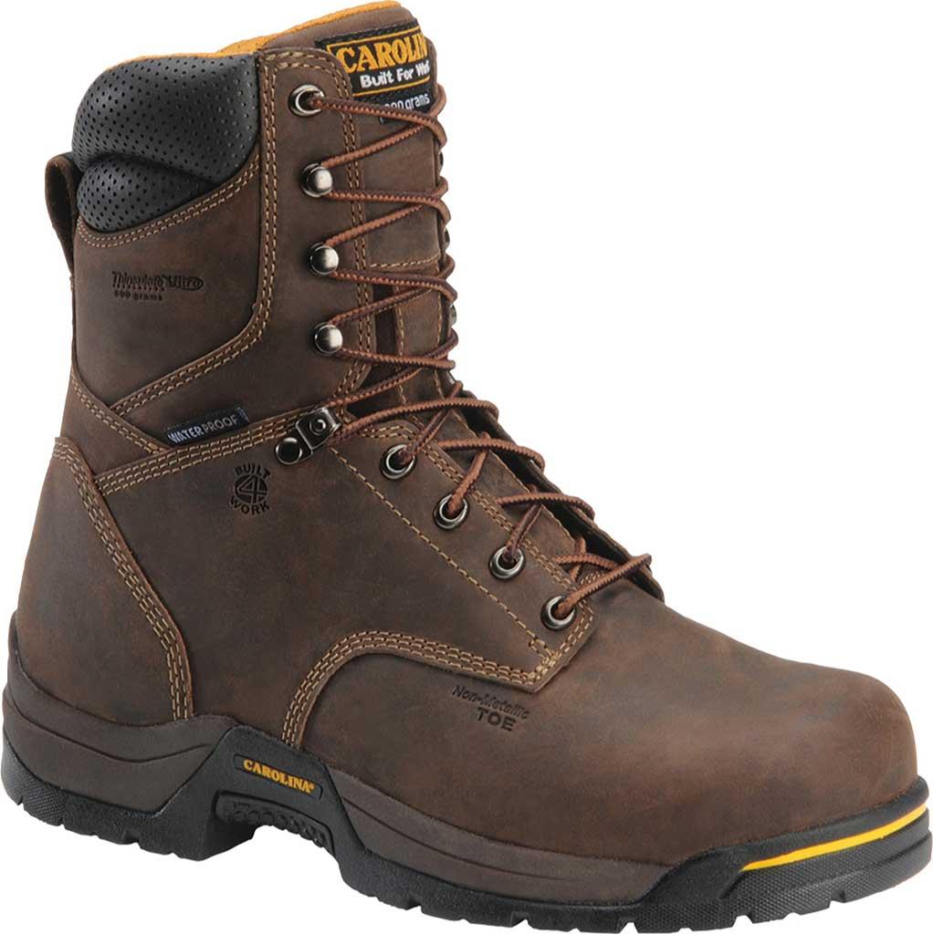 Men's Carolina CA8521, Dark Brown, large, image 1