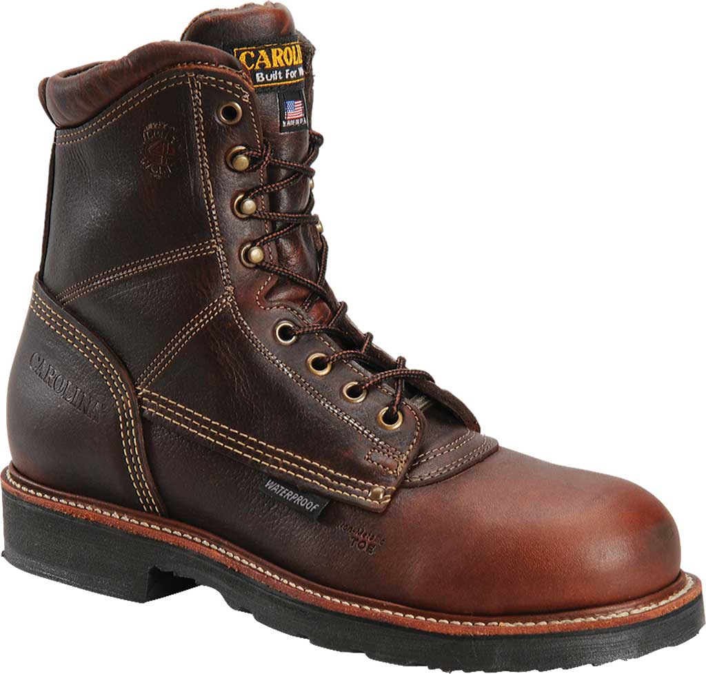 Men's Carolina CA1816, Medium Brown, large, image 1