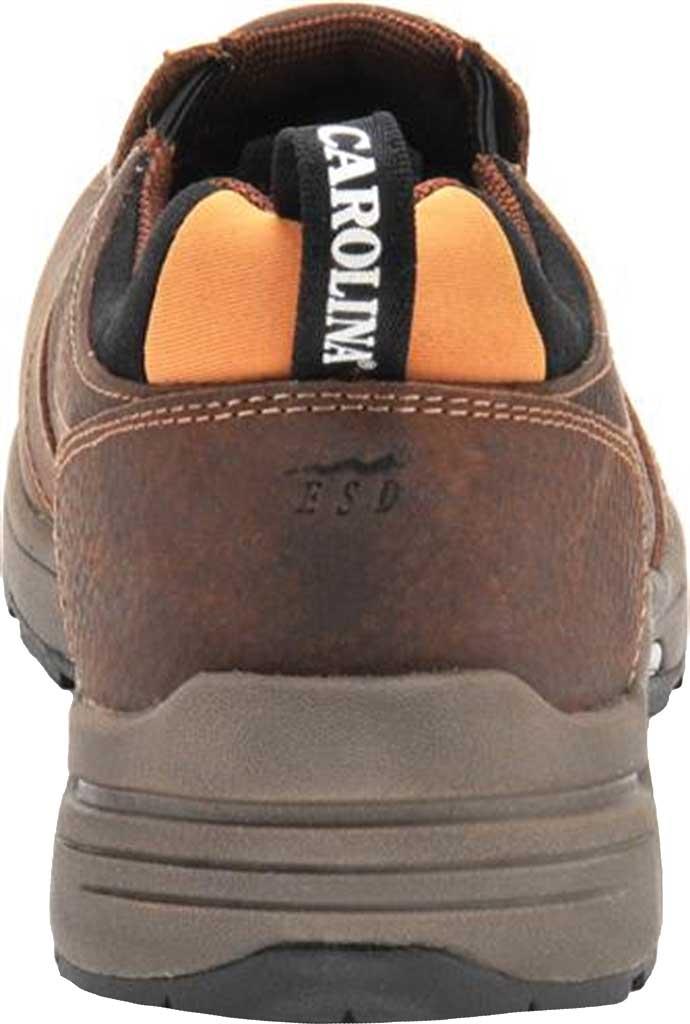 Men's Carolina Lytning Carbon Composite ESD Double-Gore Slip-On, Brown Full Grain Leather, large, image 3