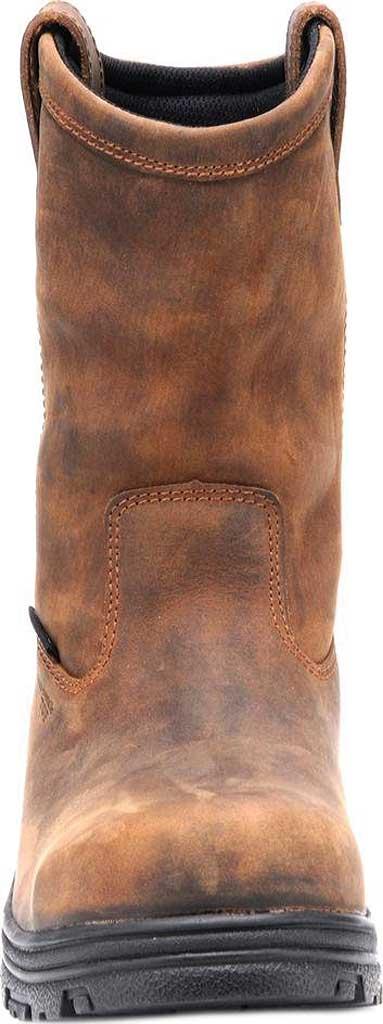 Men's Carolina Waterproof Composite Toe Wellington, Dark Brown Crazy Horse Leather, large, image 3