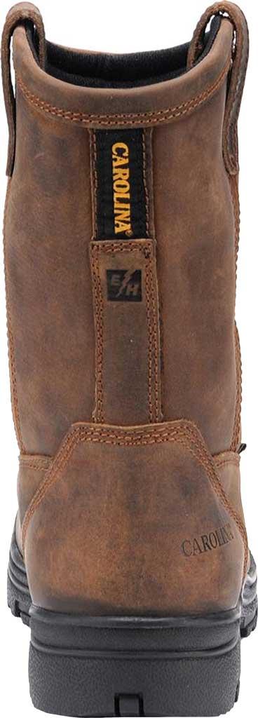 Men's Carolina Waterproof Composite Toe Wellington, Dark Brown Crazy Horse Leather, large, image 4