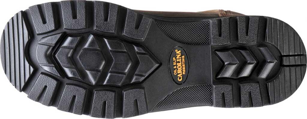 Men's Carolina Waterproof Composite Toe Wellington, Dark Brown Crazy Horse Leather, large, image 6