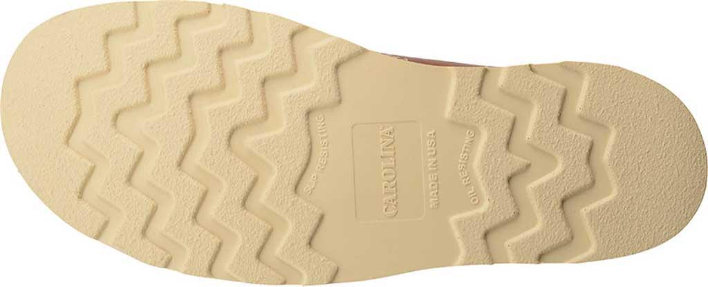 "Men's Carolina 8"" Domestic Steel Moc Toe Wedge Work Boot, Dark Brown Leather, large, image 5"