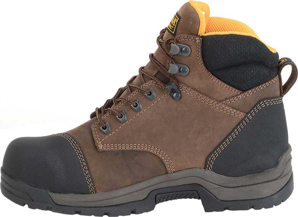 "Men's Carolina 6"" ESD Waterproof Composite Broad Toe Work Boot, Dark Brown Leather, large, image 2"