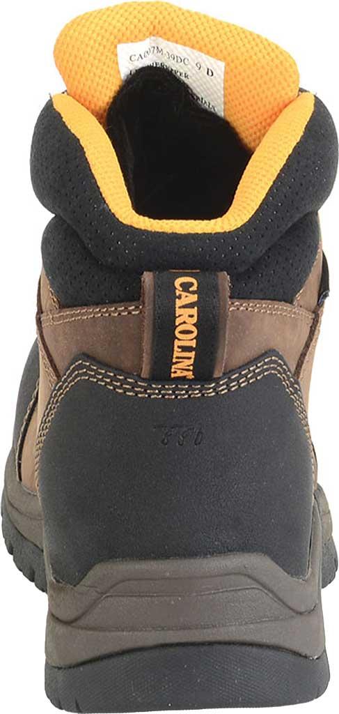 "Men's Carolina 6"" ESD Waterproof Composite Broad Toe Work Boot, Dark Brown Leather, large, image 3"