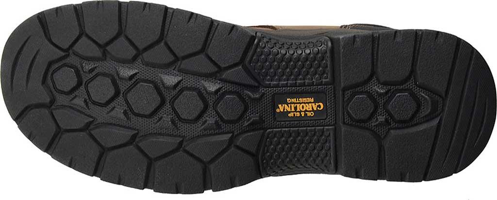"Men's Carolina 6"" ESD Waterproof Composite Broad Toe Work Boot, Dark Brown Leather, large, image 5"