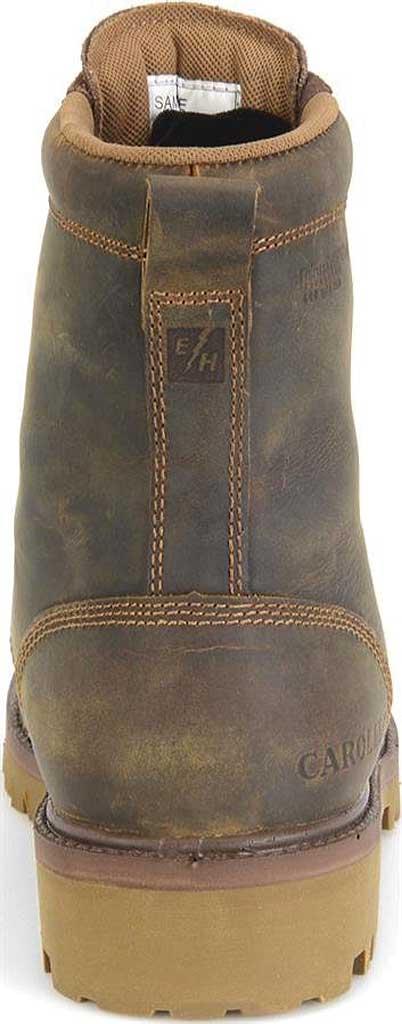 "Men's Carolina 8"" Waterproof 400G Insulated Steel Toe Work Boot, Medium Brown Leather, large, image 4"