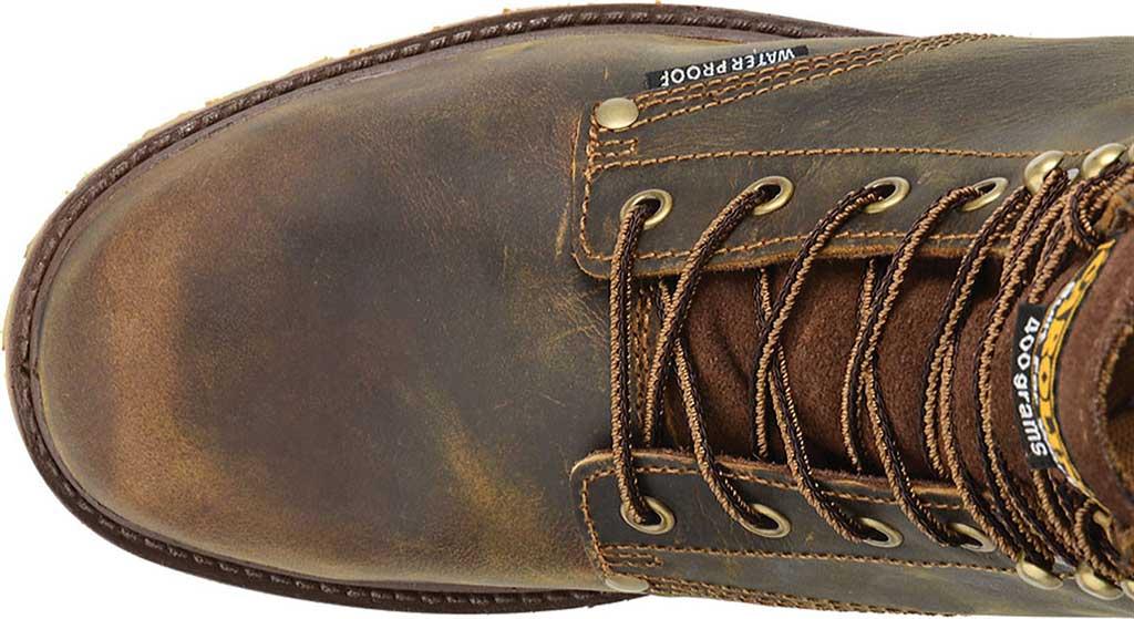 "Men's Carolina 8"" Waterproof 400G Insulated Steel Toe Work Boot, Medium Brown Leather, large, image 5"
