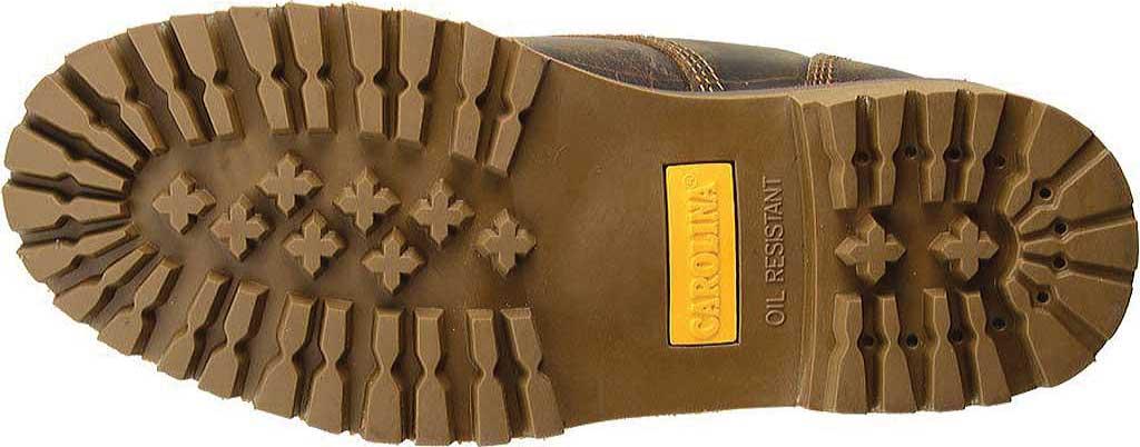 "Men's Carolina 8"" Waterproof 400G Insulated Steel Toe Work Boot, Medium Brown Leather, large, image 6"
