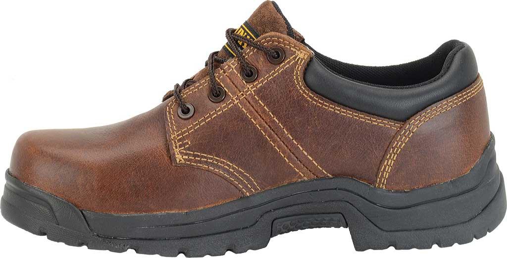 Men's Carolina Steel Broad Toe ESD Oxford, Dark Brown Leather, large, image 2