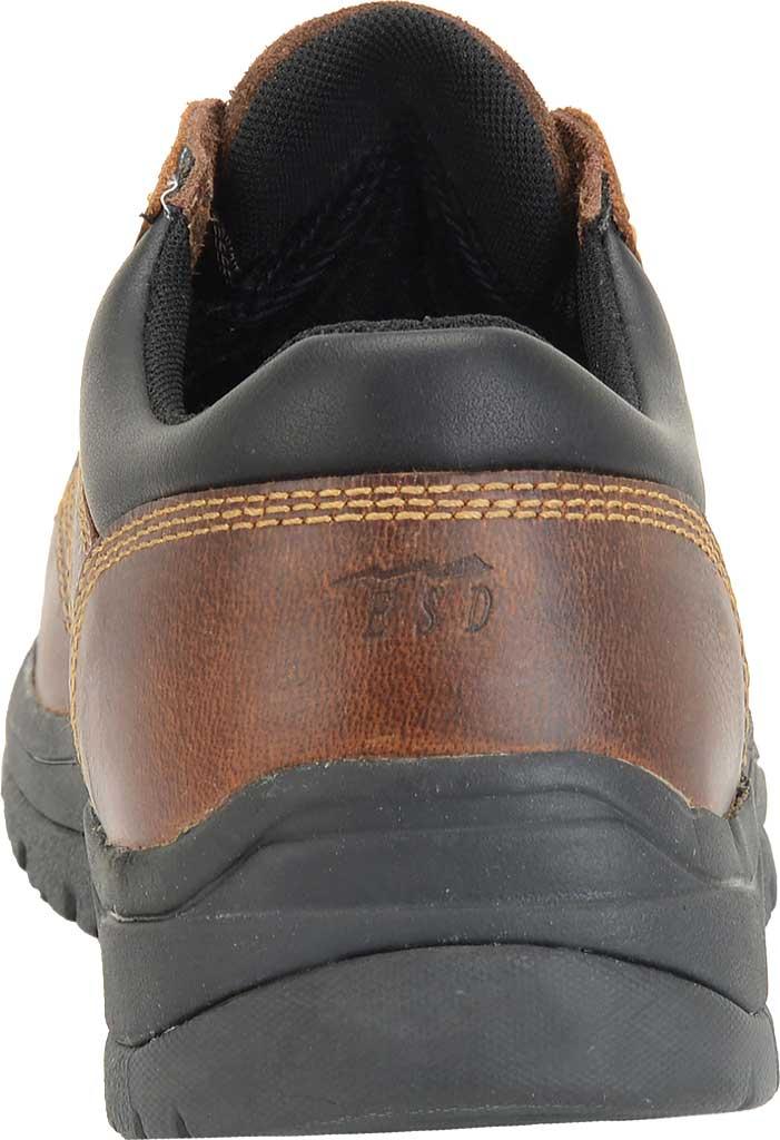 Men's Carolina Steel Broad Toe ESD Oxford, Dark Brown Leather, large, image 3