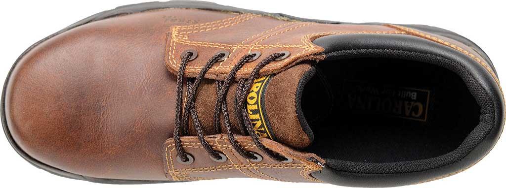 Men's Carolina Steel Broad Toe ESD Oxford, Dark Brown Leather, large, image 4