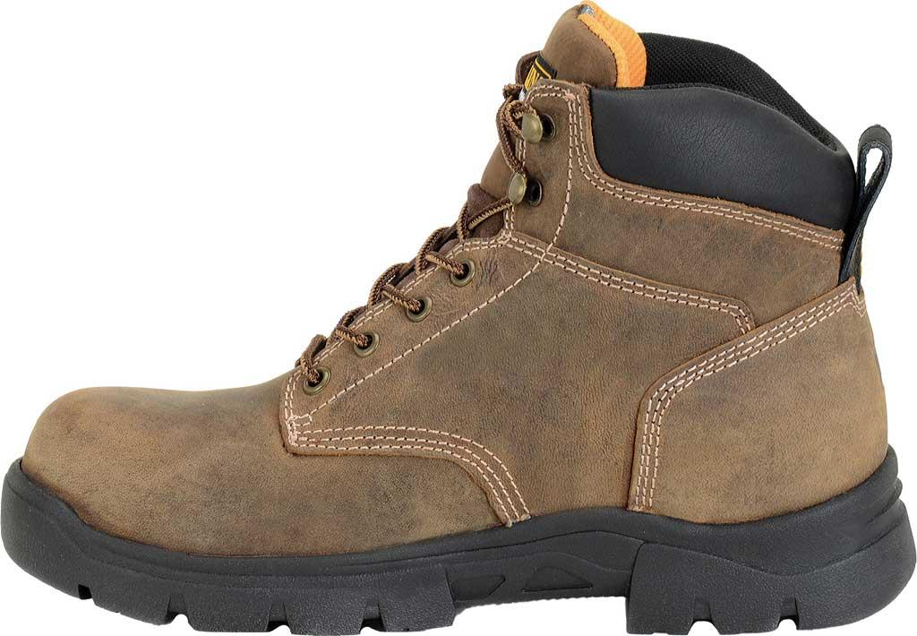 """Men's Carolina 6"""" Waterproof Composite Toe Work Boot CA3536"""", Dark Brown, large, image 2"""