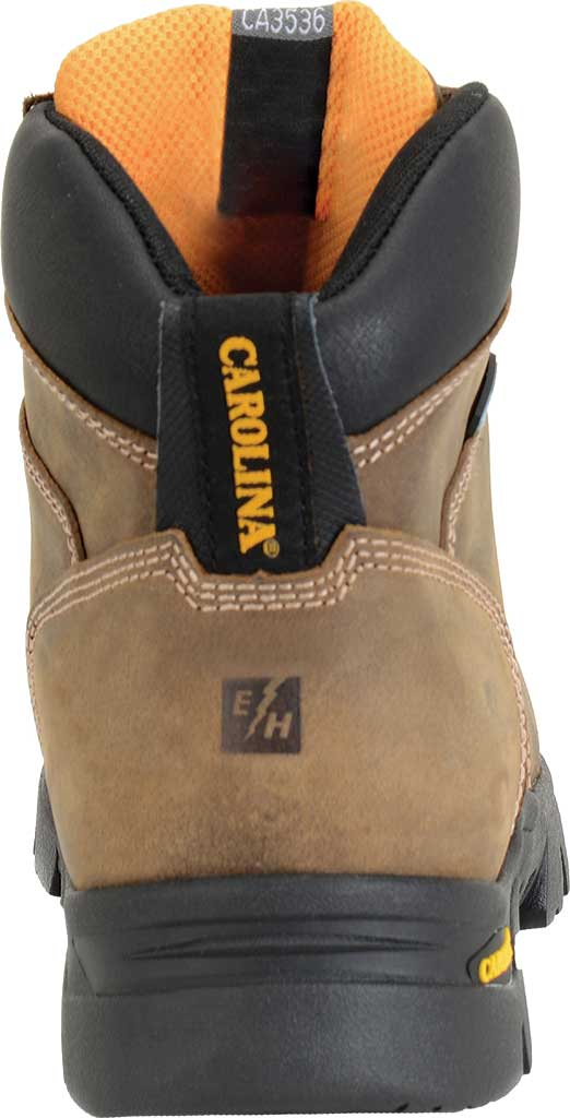 """Men's Carolina 6"""" Waterproof Composite Toe Work Boot CA3536"""", Dark Brown, large, image 3"""